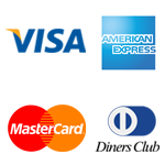 aceitamos: visa, american express, mastercard, diners